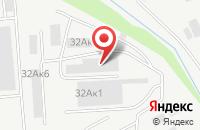 Схема проезда до компании Альматея Плюс в Курске