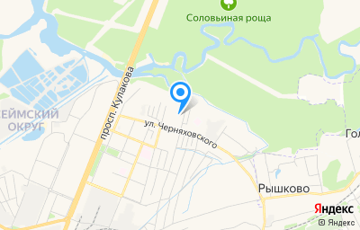 Местоположение на карте пункта техосмотра по адресу г Курск, пер Краснополянский 3-й, д 6А