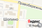 Схема проезда до компании Калуга-Молоко, ЗАО в Шопино