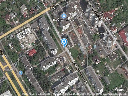 Продам 1-комнатную квартиру, 38 м², Курск, улица Чернышевского, 68
