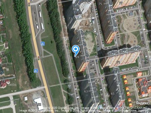 Сдаем посуточно квартиру, 40 м², Курск, проспект Анатолия Дериглазова, 69