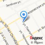 Мята на карте Курска