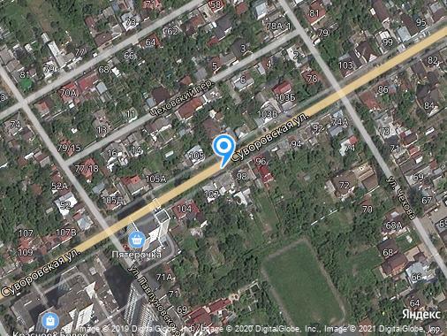 Сдаем дом, 45 м², Курск, Суворовская улица