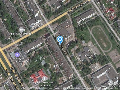 Сдаю 1-комнатную студию, 38 м², Курск, улица Чернышевского