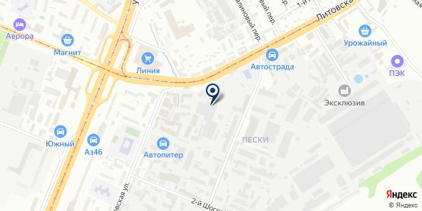 Питлайн на карте Курске