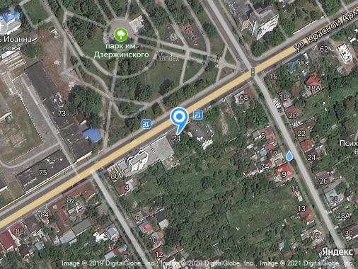 Продаю землю промышленного назначения, Курск, улица Красной Армии, 74