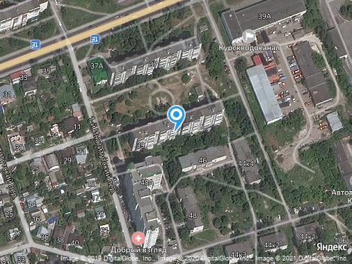 Продаю 2-комнатную квартиру, 46 м², Курск, улица Кавказская, 39