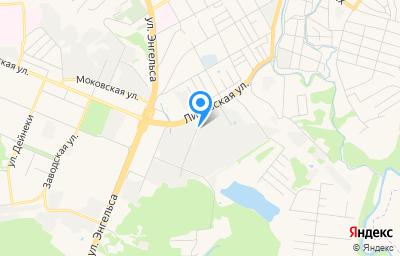 Местоположение на карте пункта техосмотра по адресу г Курск, ул Литовская, д 10