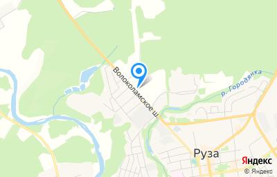 Местоположение на карте пункта техосмотра по адресу Московская обл, г Руза, ш Волоколамское, д 18