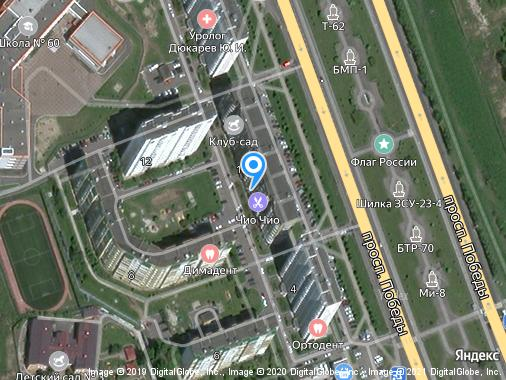 Продаем 1-комнатную студию, 48 м², Курск, проспект Победы, 10