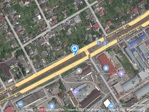 Сдаю дом, 52 м², Курск, Литовская улица