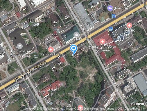 Продажа помещения свободного назначения, Курск, улица Дзержинского, 72А