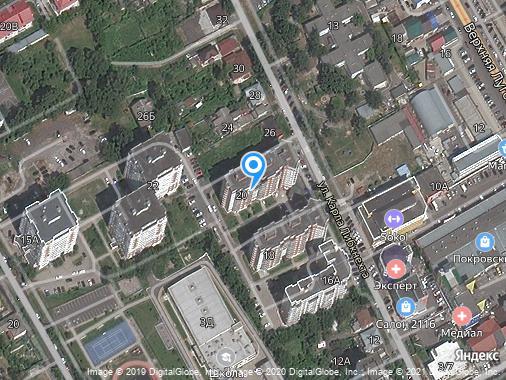 Продажа 4-комнатной квартиры, 106 м², Курск, улица Карла Либкнехта, 20
