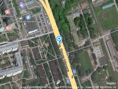 Аренда 1-комнатной квартиры, 30 м², Курск, улица Карла Маркса