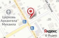 Схема проезда до компании Вариант-К в Курске
