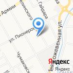 КурсКлимат на карте Курска