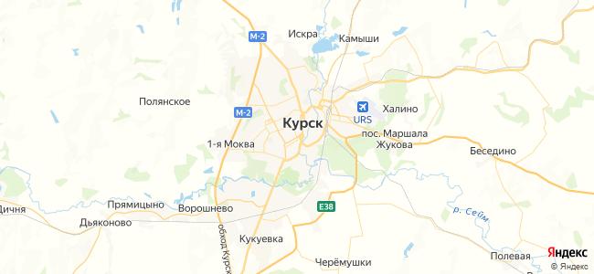 Курск - объекты на карте