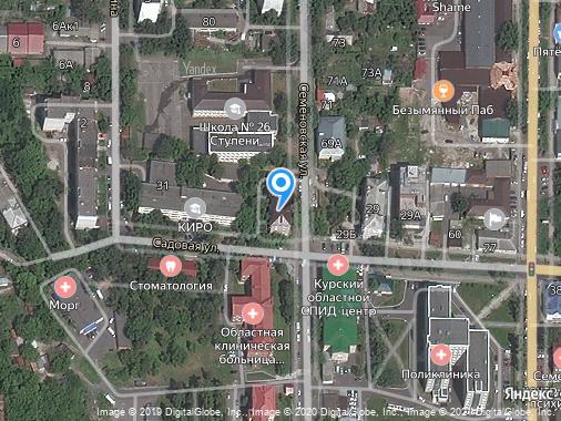 Продается 1-комнатная студия, 42 м², Курск, улица Семеновская, 78