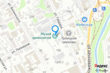 Афиша места Курский государственный областной музей археологии