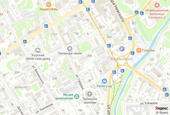 жилой комплекс по ул. Гайдара 26А