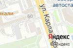 Схема проезда до компании Амина в Курске