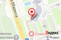 Схема проезда до компании Агро-Ресурс в Курске