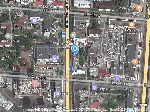 Аренда помещения свободного назначения, Курск, улица Радищева, 25