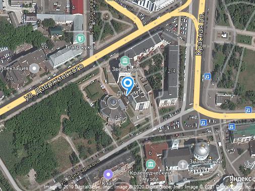 Продам 1-комнатную студию, 108 м², Курск, улица Дзержинского, 4