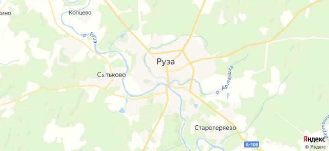 Гостиницы Рузы - объекты на карте