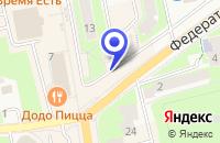 Схема проезда до компании БЮРО ПРОКАТА МОНТЕ-ВИДЕО в Рузе