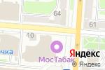 Схема проезда до компании AMAKids в Курске