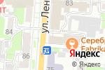 Схема проезда до компании Ресторация в Курске