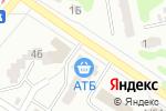 Схема проезда до компании АТБ в Харькове