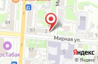 Схема проезда до компании Издательский Дом «Красная Площадь» в Курске