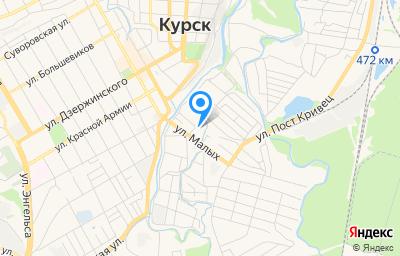 Местоположение на карте пункта техосмотра по адресу г Курск, ул Гунатовская, зд 32