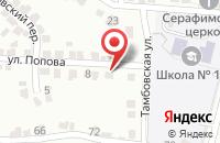 Схема проезда до компании Шоферская Доля в Курске