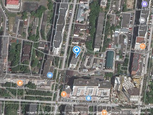 Сдам 1-комнатную студию, 40 м², Курск, улица Горького, 57