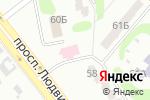 Схема проезда до компании X-Makers в Харькове