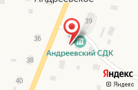 Схема проезда до компании Шиномонтажная мастерская в Андреевском