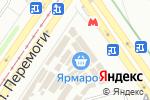 Схема проезда до компании От А до Я в Харькове
