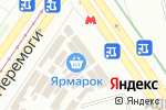 Схема проезда до компании Магазин сумок в Харькове