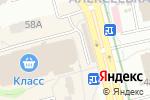 Схема проезда до компании F5 Техномережа в Харькове
