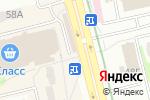 Схема проезда до компании Made in в Харькове