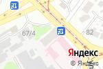 Схема проезда до компании Булат в Харькове