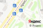 Схема проезда до компании Capri Pizza в Харькове