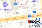 Схема проезда до компании На посошок в Харькове