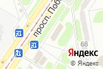 Схема проезда до компании Роганська в Харькове