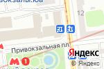 Схема проезда до компании Почтовое отделение №52 в Харькове
