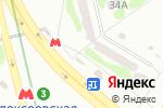 Схема проезда до компании Магазин по продаже овощей и фруктов в Харькове