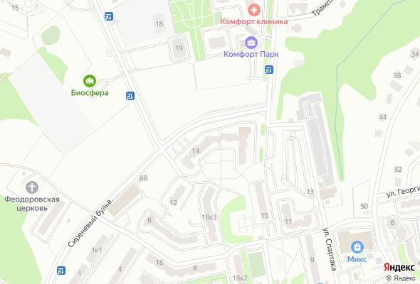 купить квартиру в ЖК по ул. Сиреневый бульвар